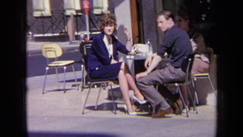 LONDON ENGLAND 1963: man and woman, enjoying sun and each other's company #24418457