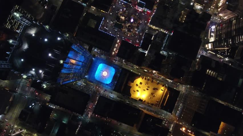Pittsburgh PPG Bird's Eye View Aerial 4K