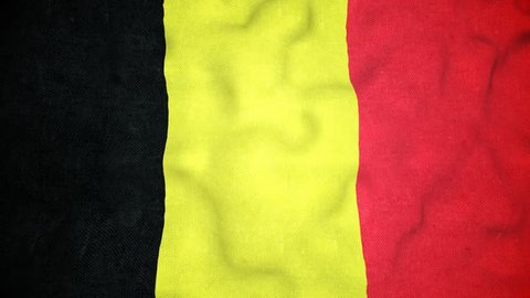 A seamless video loop of the Belgian flag waving. A great national icon, the flag of Belgium in full glory. You can repeat this video loop endlessly.