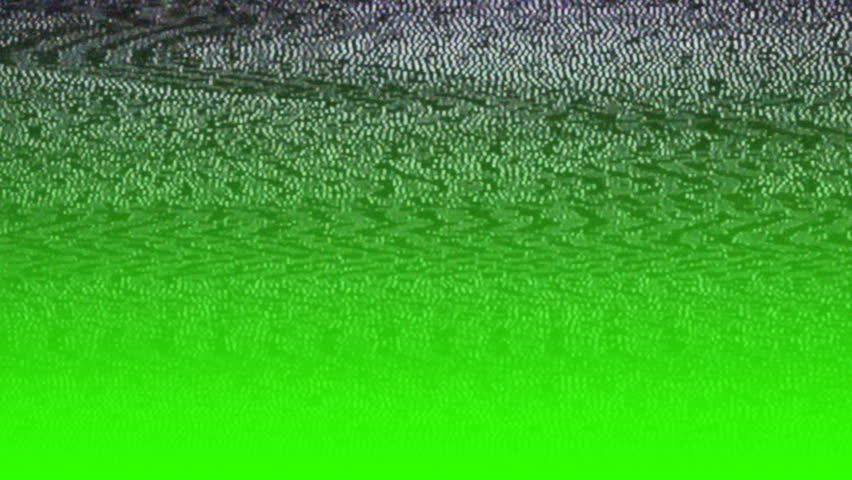 Green screen. Fast movie distortion waves, grained television screen. Glitch TV picture static, noise, lost signal. Footage for tv show intro, opener, broadcasting, music clips, advertising footage. | Shutterstock HD Video #24515147