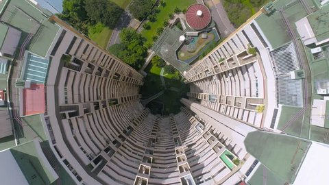 Singapore Pearl Bank Apartments Aerial inside+