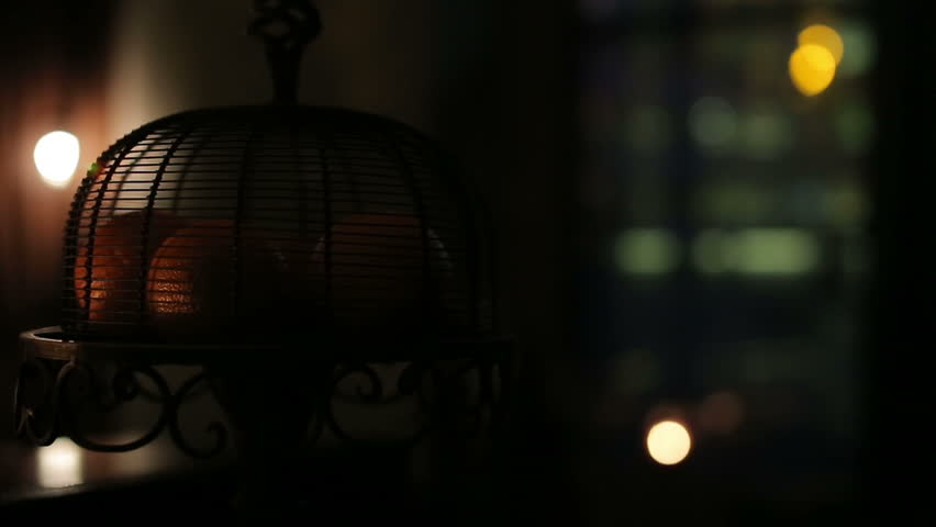 luxury night light inerior detail