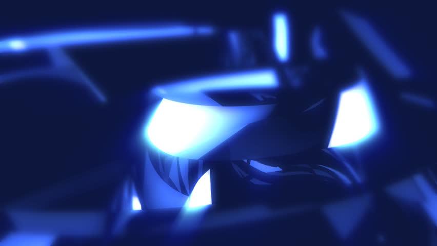 3D Fantasy Crystal Background