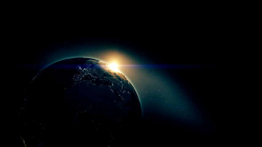 Earth view from space with night city lights oceania stunning realistic beautiful sunrise on earth from deep space 4k stock footage clip voltagebd Image collections