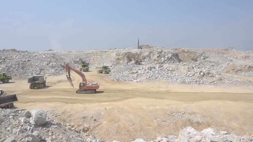 Limestone Mining in Southeast Asia Stock Footage Video (100% Royalty-free)  24792617 | Shutterstock
