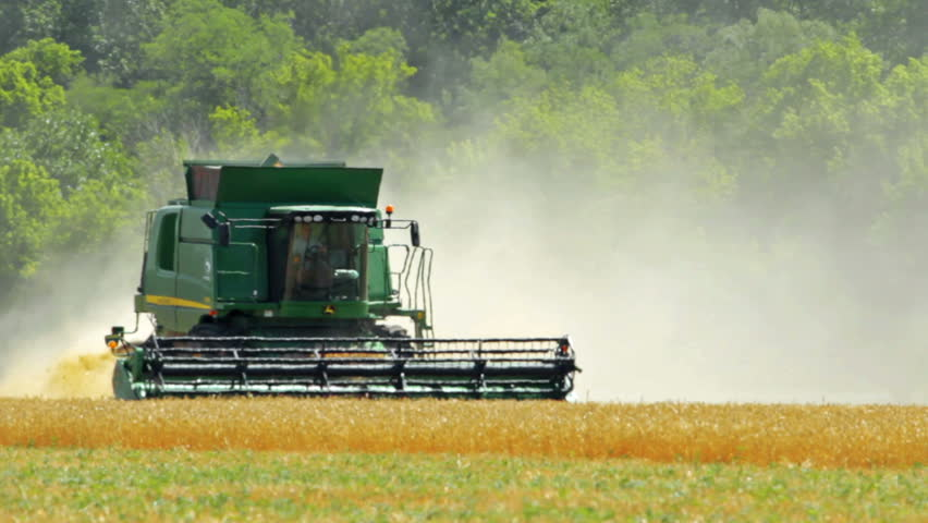 Agriculture and harvester | Shutterstock HD Video #2480255