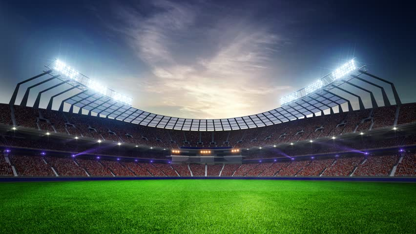 stadium floodlights flash on stock footage video 17965033