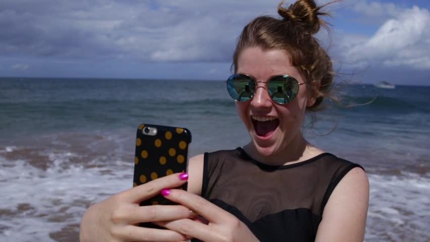 Sorry, that hawaiian teen girl selfie