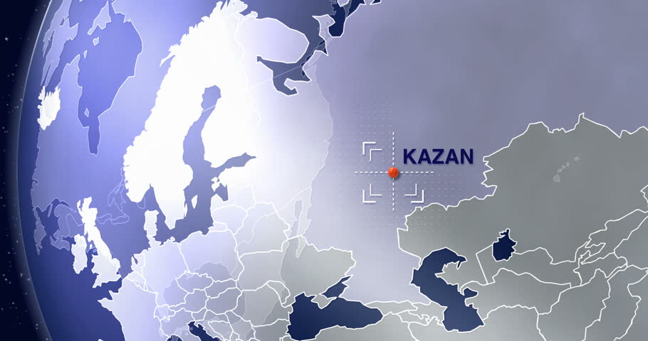 Moskau animated world map zoom russia city location 4k blue kazan animated world map zoom russia city location 2018 world cup sports venue sciox Image collections