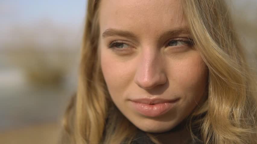 Beautiful girl wearing braces, candid portrait | Shutterstock HD Video #25144817