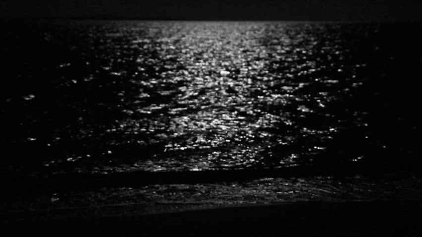moonbeam in sea