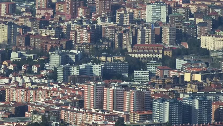 Aerial views of residential architecture. | Shutterstock HD Video #25215671
