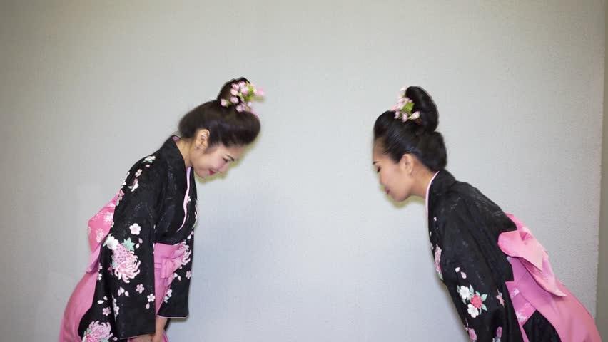 Header of geisha