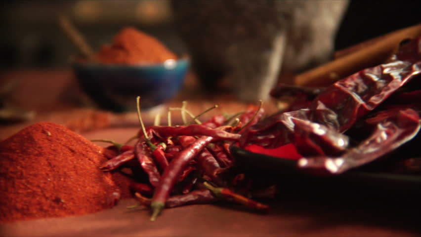 pouring mexican spices