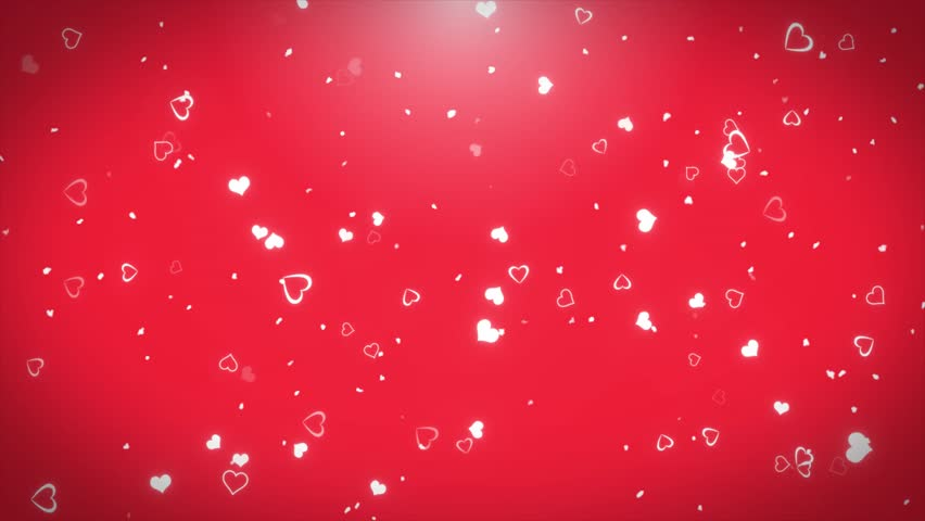 4k Romantic flying heart lovely heart backdrop Seamless loop . For St. Valentine's Day, Mother's Day, wedding anniversary greeting cards, wedding invitation or birthday.