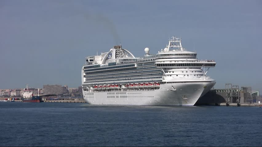 Port Of Amsterdam NoordHollandNetherlands March - Amsterdam cruise ship