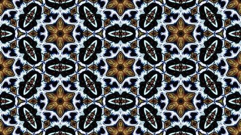 Kaleidoscopic vj seamless loop