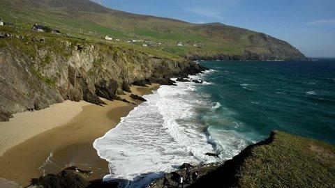 Slea Head Beach in Kerry, Ireland/ Slea Head Beach/ Amazing beach at Slea Head in Kerry, Ireland.
