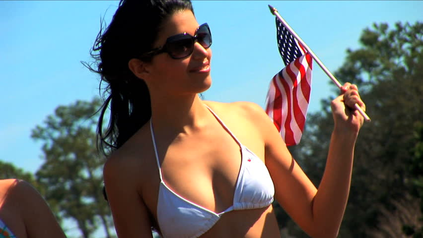Beautiful latino girl has crazy fun in a convertible