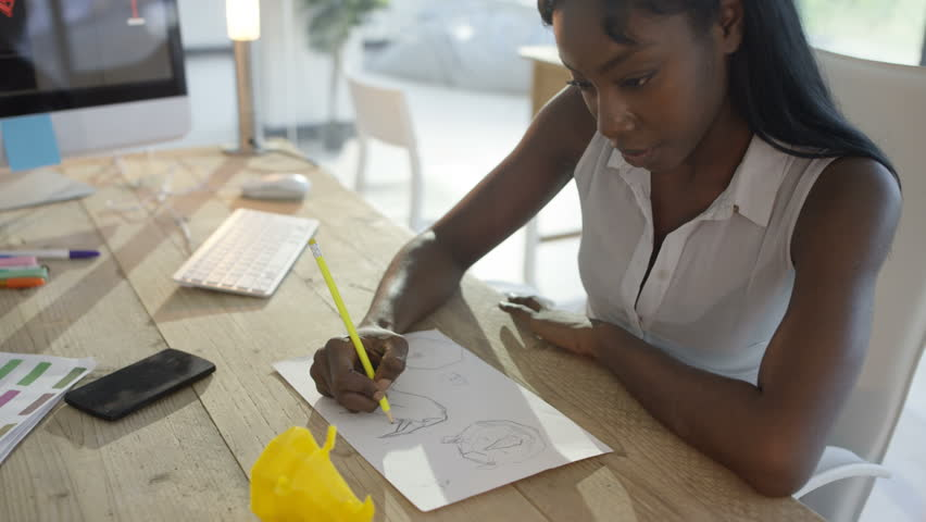 4K Female designers in a meeting in creative office | Shutterstock HD Video #25791407