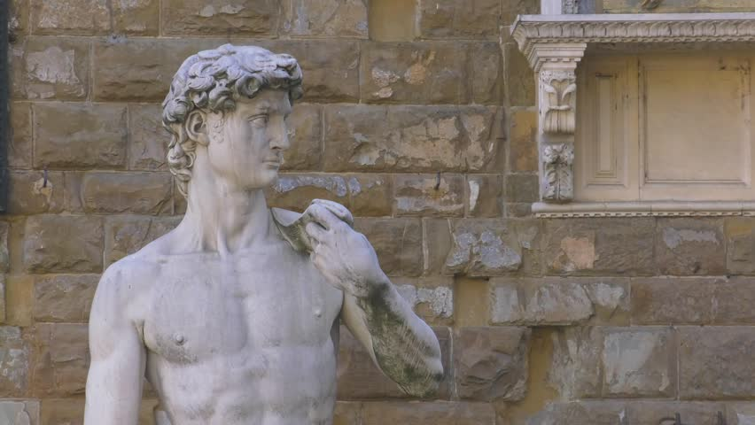 David of Michelangelo, Florence.