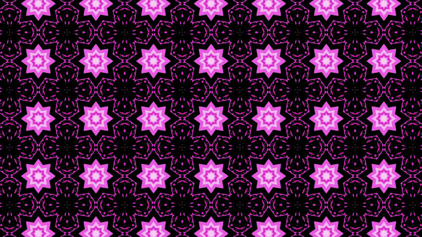 A video fragment of a kaleidoscope with different patterns and colors in motion | Shutterstock HD Video #25810100