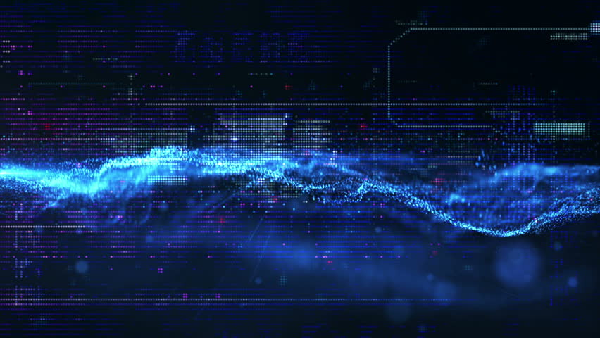 Hi tech abstract background hd stock footage a grid like pattern 3d rendering digital matrix particles grid virtual reality abstract cyber space environment background hd stock voltagebd Images