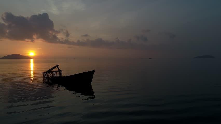 Boat sailing, motor boat in beautiful sea   Shutterstock HD Video #26052587