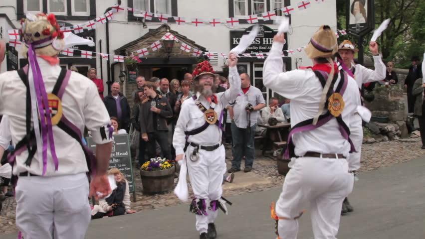 Morris Dancing Stock Footage Video