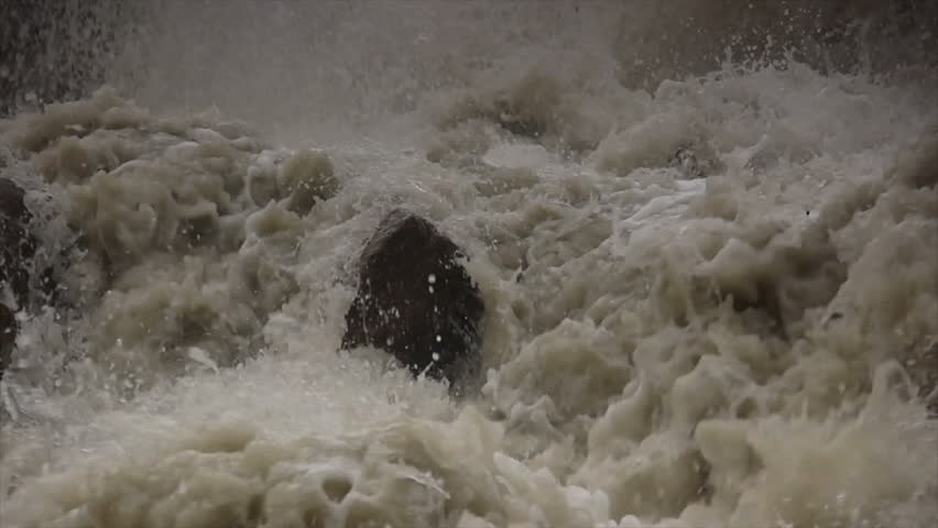 stock footage flood, deluge, inundation, floodwaters, overflow, spate