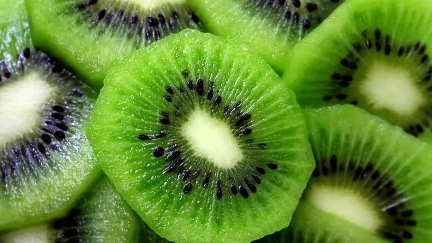 Kiwi Fruit Slices Rotating | Shutterstock HD Video #26299007