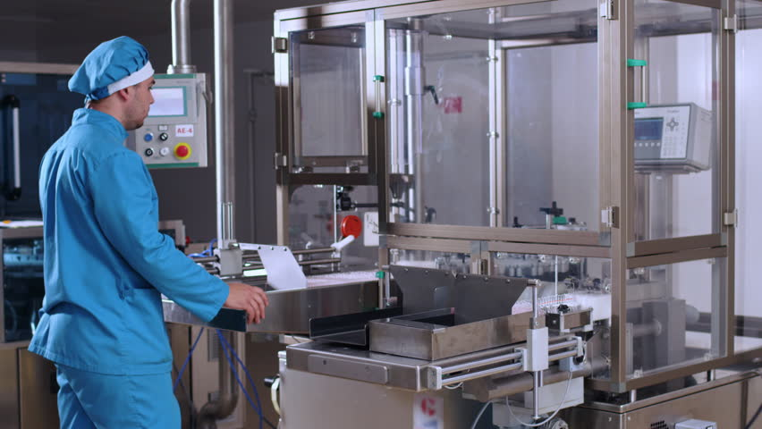 Pharmacist Control Pharmaceutical Manufacturing Process At