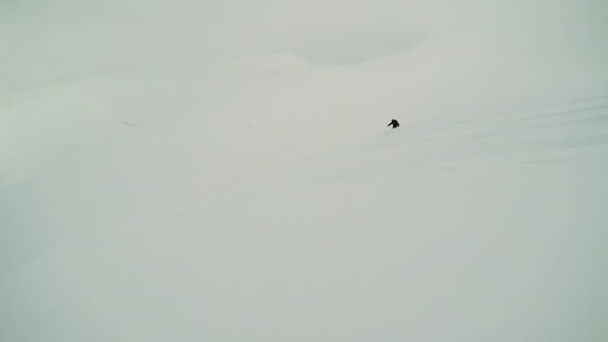 Man skier skiing down mountain with friends - first person view | Shutterstock HD Video #26303912