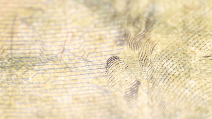 Tracking macro elements on the US fifty dollar bill. US dollars background.  | Shutterstock HD Video #26384987