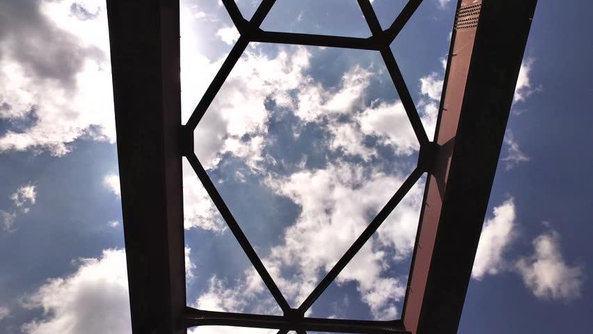 IRON BRIDGE look up Walking