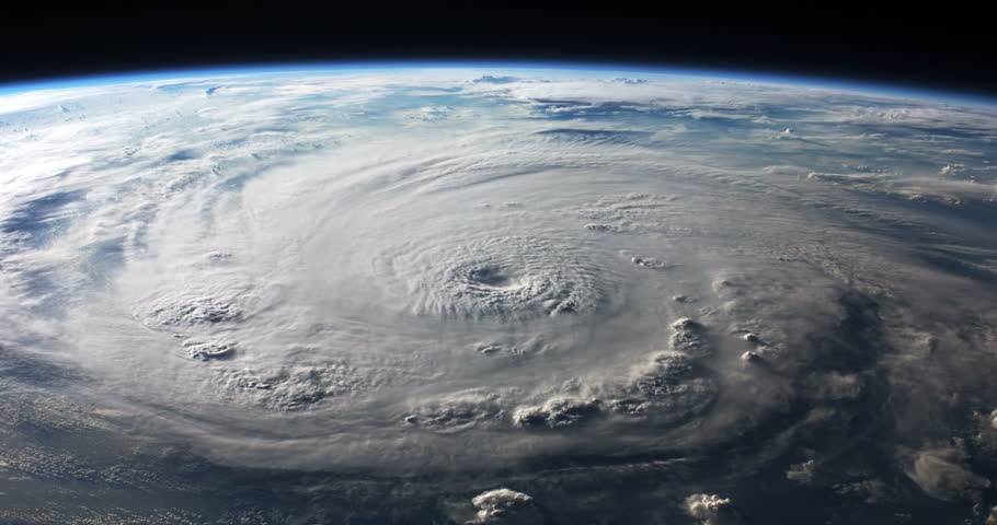 Hurricane Felix View From Space to Earth Animation, 4K some elements furnished by NASA images | Shutterstock HD Video #26481353