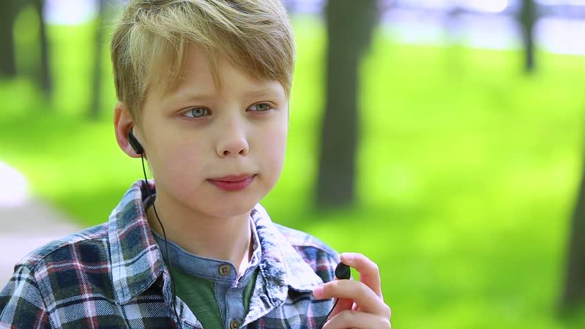 Portrait Of Blond Cute Boy Stock Footage Video 100 Royalty Free