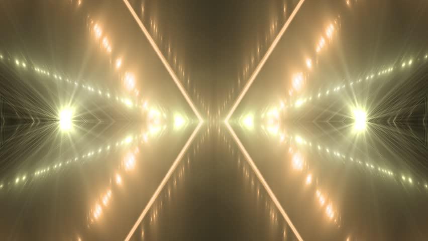 VJ Lights orange and golden flashing spot light. Wall stage led blinder blinking. Club concert dance disco dj matrix beam fashion. floodlight halogen headlamp. | Shutterstock HD Video #26673217