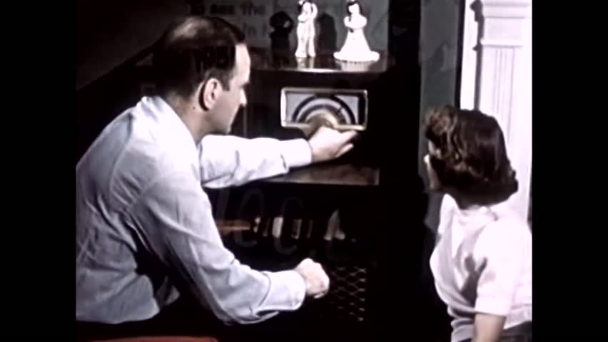 1950s: Silent footage from 1951 of various activities American engage in.