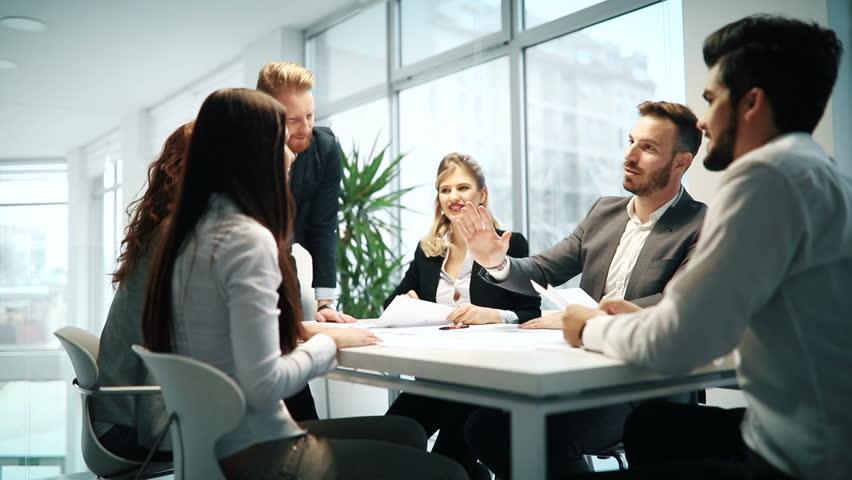 Succesful enterprenours and business people | Shutterstock HD Video #26879737