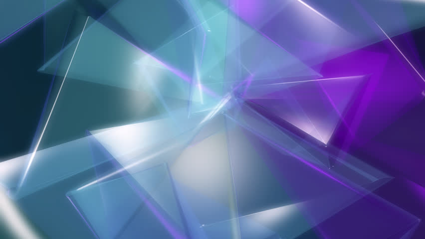 Background of multicolored translucent triangles | Shutterstock HD Video #26900017