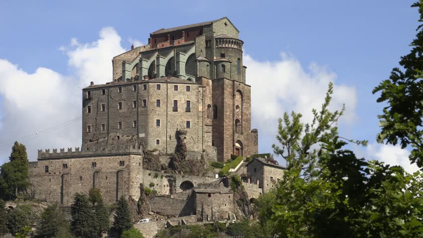 The Sacra Di San Michele, Also Known As Saint Michael\'s Abbey, Is ...