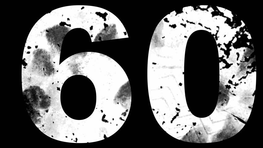 Random grungy numbers with paint splatters   Shutterstock HD Video #2701388