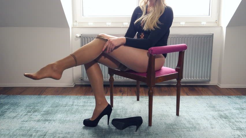 Beautiful Nylon Legs
