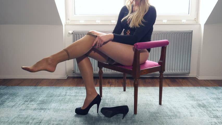 Beautiful Nylon Legs