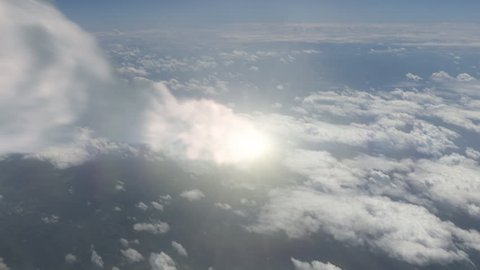 Meteor (Asteroid) burns in atmosphere. Production Quality Footage in ProRes HQ codec 25 FPS.