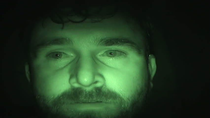 Total Insanity in Dark Room Recorded by Real Nightvision | Shutterstock HD Video #27163927