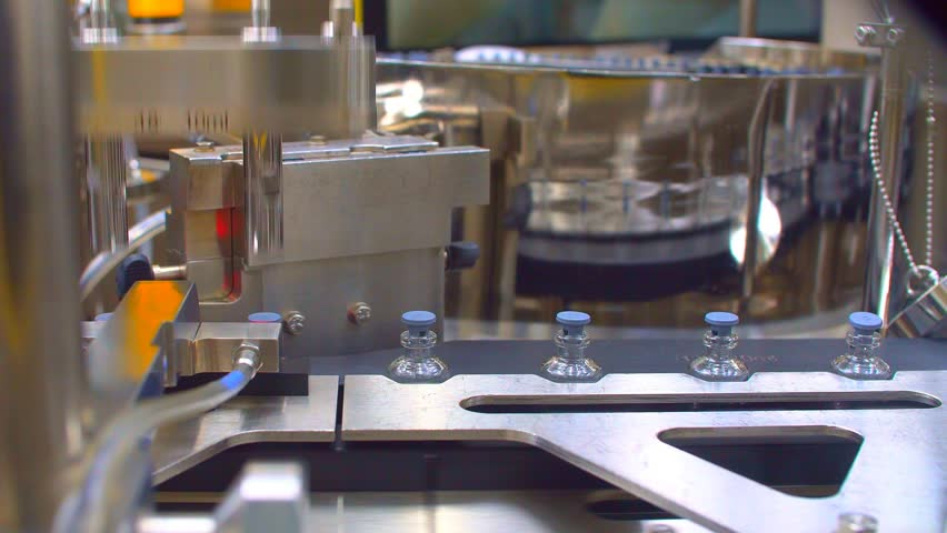 Pharmaceutical Industry Production. #27219157