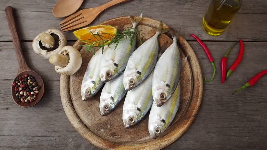 Header of mackerel