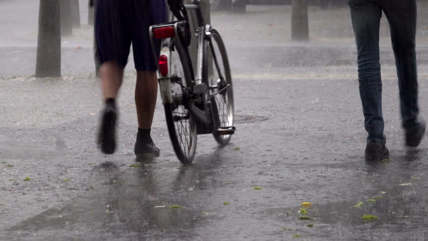 Bikes and cycling in the rain